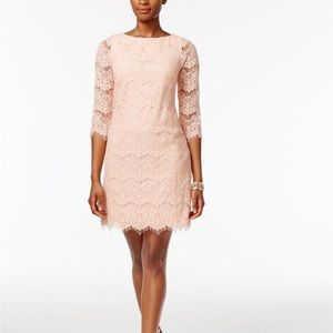 JESSICA HOWARD Lace Scalloped Dress